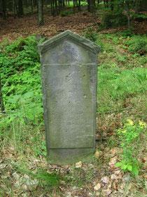 Gedenkstein westlich der Hohwaldschenke