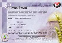 DONS POUR CBSP DE 4 142,16€