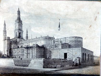 Parroquia San antonio en plena construccion
