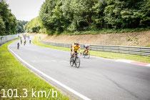 Geschwindigkeitsmessung auf dem Nürburgring