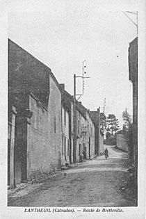 La rue de Bretteville