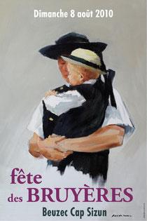 Affiche édition 2010 réalisé par Fanch Moal
