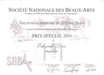 Diploma del Carrusel del Louvre 2011