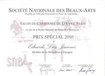 Diploma del Carrusel del Louvre 2010