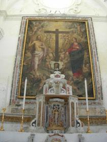 Chiesa di Gesù e Maria: Quadro con Gesù e Maria
