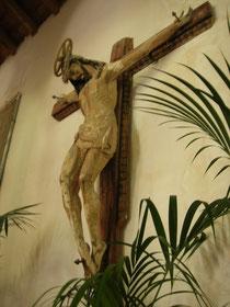 Chiesa della Madonna della Catena: Crocifisso lignéo