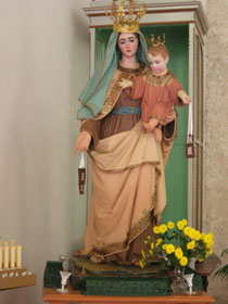 Chiesa della Madonna della Catena: Madonna del Carmelo