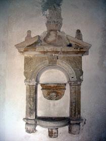 Chiesa della Madonna della Catena: Lavabo del 1637