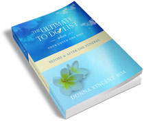 funeral planning, buy the ultimate to do list when your loved one dies on amazon.com, funeral to do list, death, bereavement, Donna Vincent Roa, Vincent Roa Group