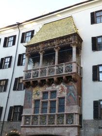 "das ""Goldene Dachl"" in Innsbruck/Tirol"