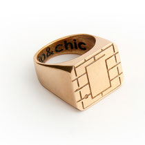 chip&chic contemporary seal ring