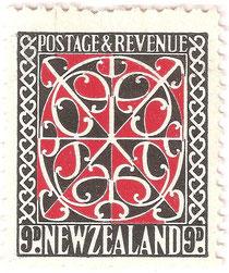 9d. 'Maori panel'.