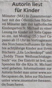Münsterer Anzeiger, 21.01.2010