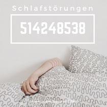 Heilzahl und Zahlencode nach Grigori Grabovoi zur Selbstbehandlung von Schlafstörungen