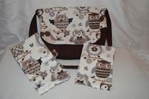 Vanians handgemachte Rucksäcke, Wickeltaschen und Windeltaschen