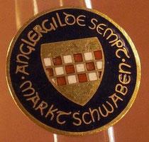 AGS Anstecker (Pin) mit Vereinslogo, Durchmesser 21mm,  5€