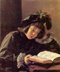 Frans Hals, Lesender Knabe, zw. 1597 und 1666, Öl auf Leinwand, Sammlung Oskar Reinhart »Am Römerholz«, Winterthur