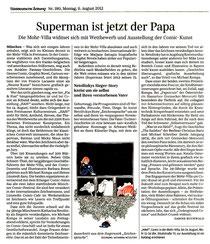 Supermann ist jetzt der Papa - August 2012