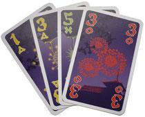 Hanabi Karten Spiele DaF A2 B1 B2 C1 C2