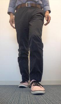 奈良の整体師の脚