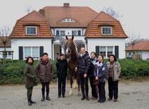 News 17.03.2011 Japanische Dressurreiter zu Gast bei Jan Treptow in Bielefeld