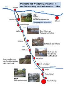Der Oker-Lachs-Radwanderweg