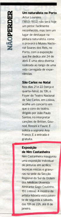 EXPRESSO / Actual Dezembro 2010