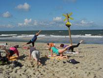 Strandgymnastik Sylt 2011