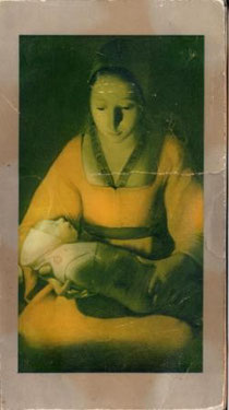 "Жорж де Латур. ""Рождество"". Фрагмент. 17 век."
