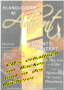 Das Highlight im Advent 2012