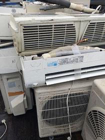 水戸市 エアコン回収