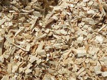 Plaquettes de bois pour le paillage et le chauffage