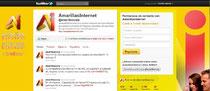 Twitter Oficial de Amarillas Interent Corp.