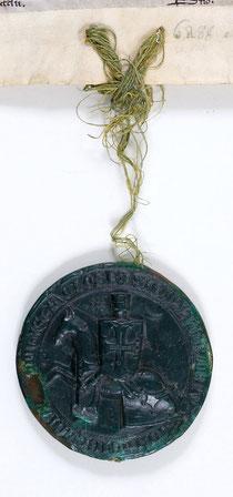 Le sceau mesure 8,5 cm