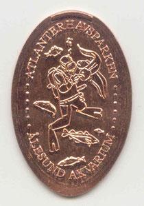 Atlanterhavsparken 5 Euro cent - motief 3