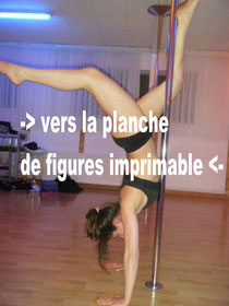 figures tricks spins débutant pole dance floorwork transitions evidence