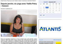 Article yoga Ouest france