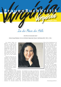 Die neue Ausgabe der Virginia ist Ende Oktober  erschienen!