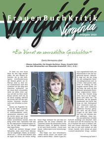Die neue Ausgabe der Virginia vom Frühjahr 2021