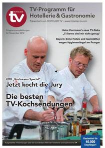 HOTEL TV PROGRAMM - Ausgabe November 2012