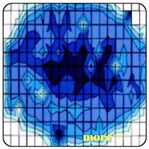 半導体キャリア測定マップ