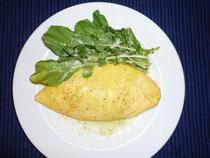 ポテトとチーズのオムレツ