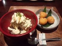 ☆島ドーナツとアイスクリーム☆
