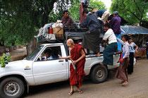 Inlandsreisen Myanmar