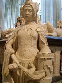 Tugend am Grabmal der Herzöge der Bretagne (siehe die Veröffentlichung über Brou)