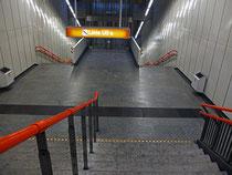 wieder in die U (Bahn) 3 und weiter...