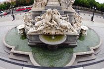 Regierungsbrunnen Detail Rückseite