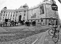 die Hofburg.. war die Residenz der Habsburger in Wien
