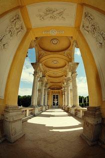 Orangerie Seitenflügel Eingang