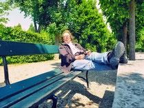 zwischendurch chillout.phase - Entspannung im Garten Schönbrunn
